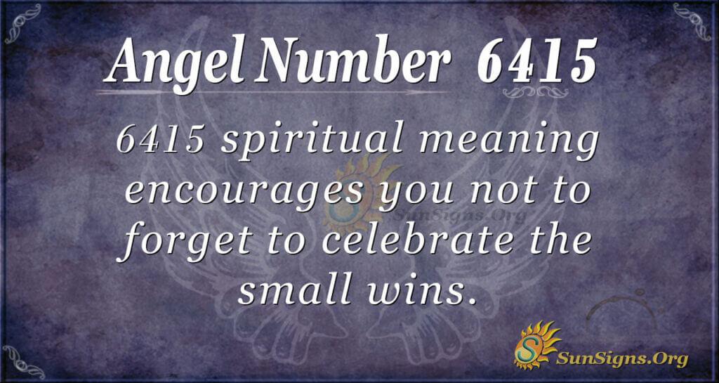 6415 angel number