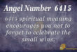 6415 angel number