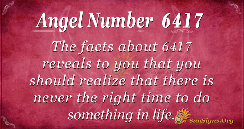 6417 angel number