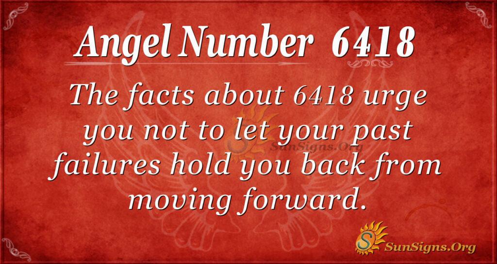 6418 angel number