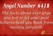 6418 angel number