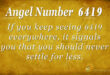 6419 angel number