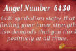 6430 angel number