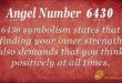 6430 angel number
