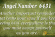 6431 angel number
