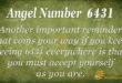 6431 angel number