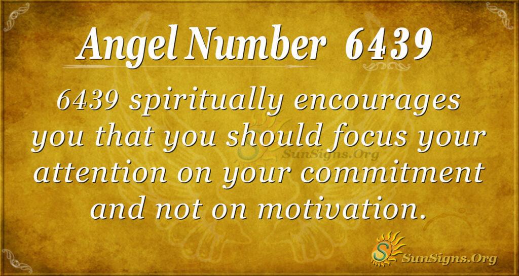 6439 angel number