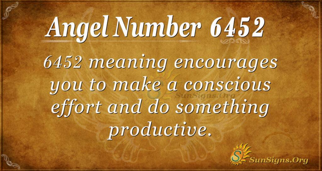 6452 angel number