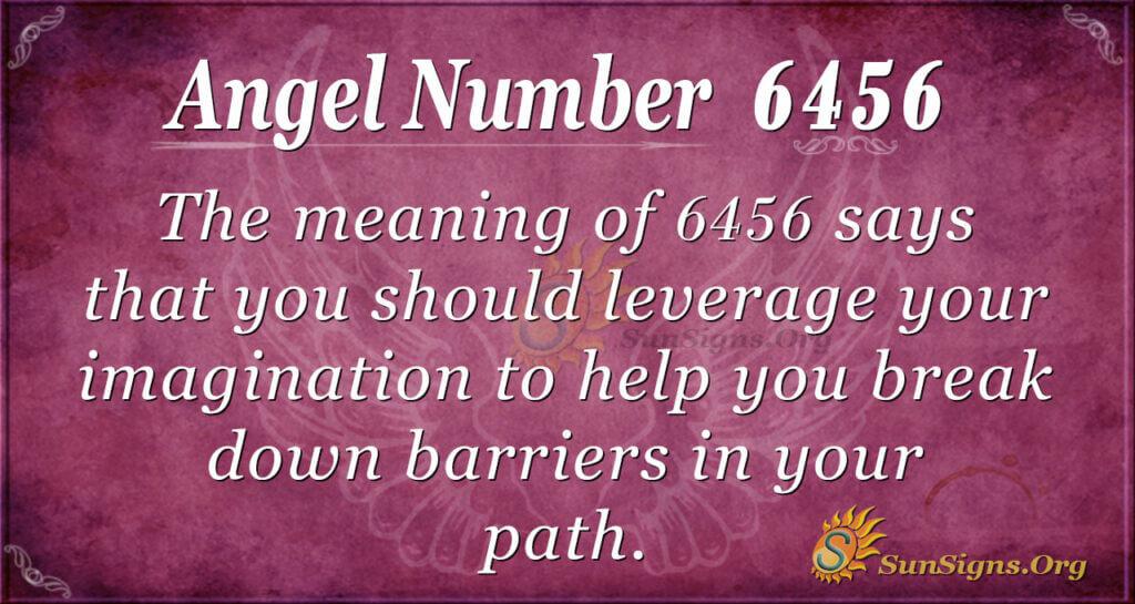 6456 angel number