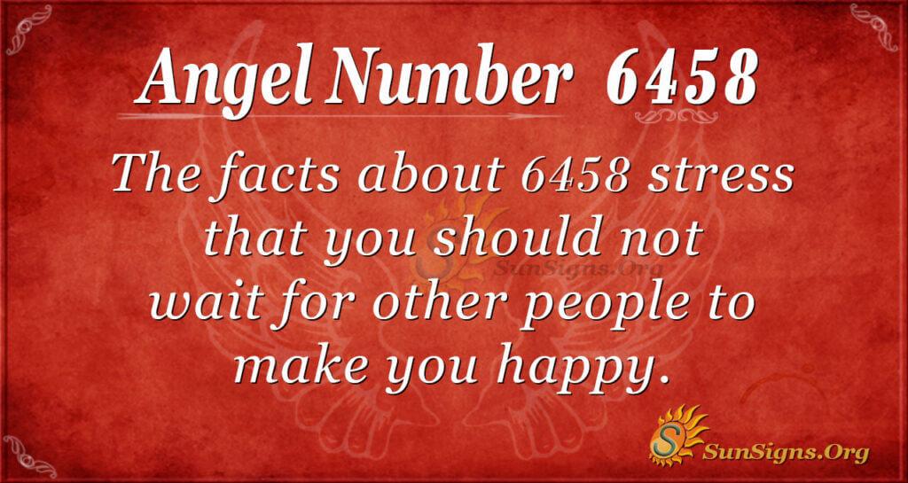 6458 angel number