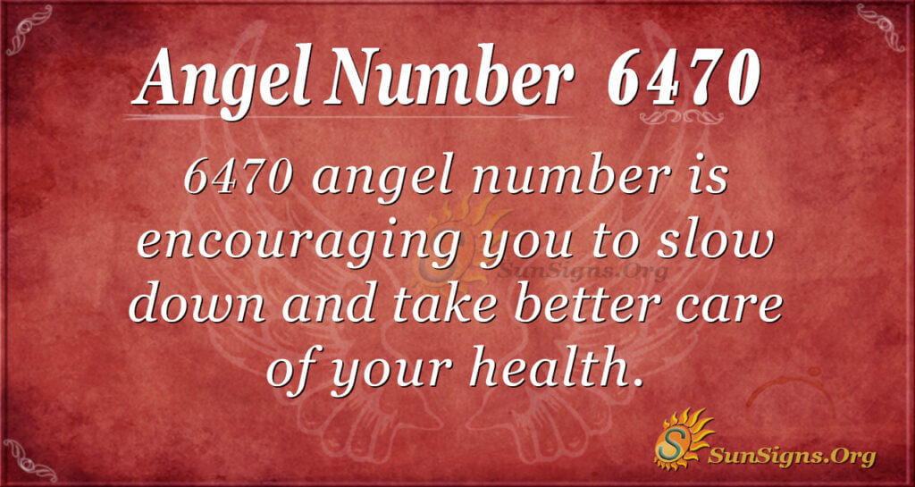 6470 angel number