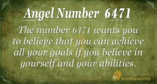 6471 angel number