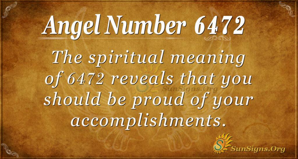 6472 angel number