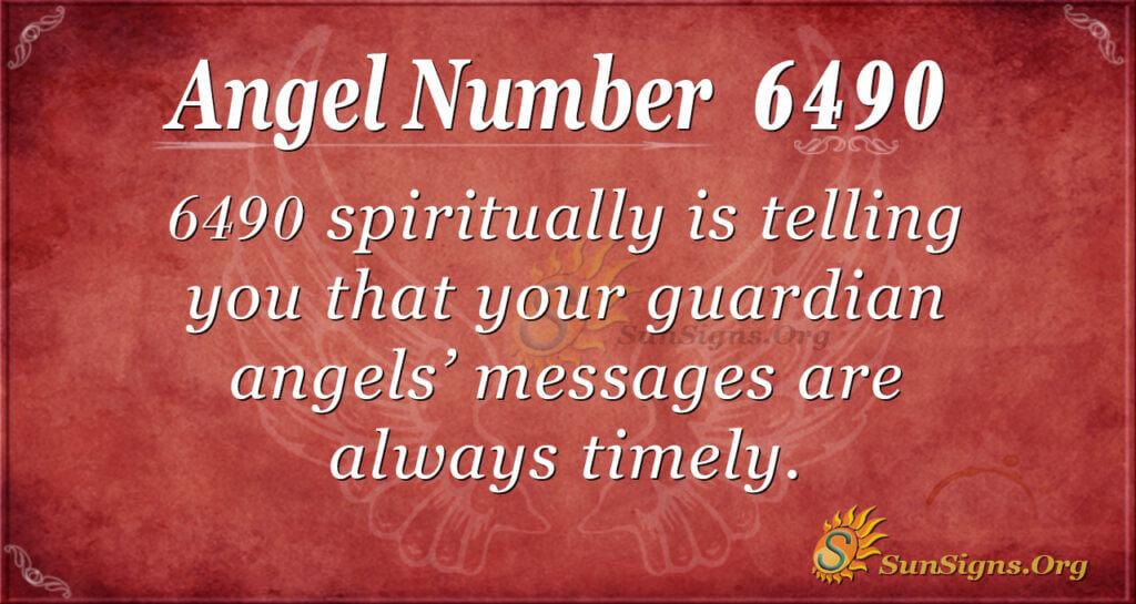 6490 angel number