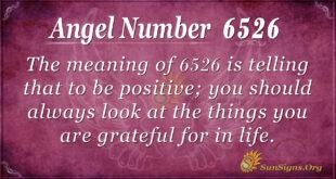 6526 angel number