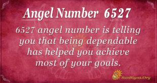 6527 angel number