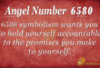 6580 angel number