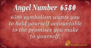6580 angel number