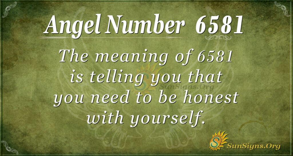 6581 angel number