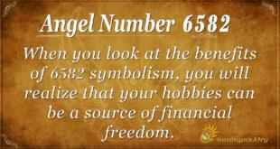 6582 angel number