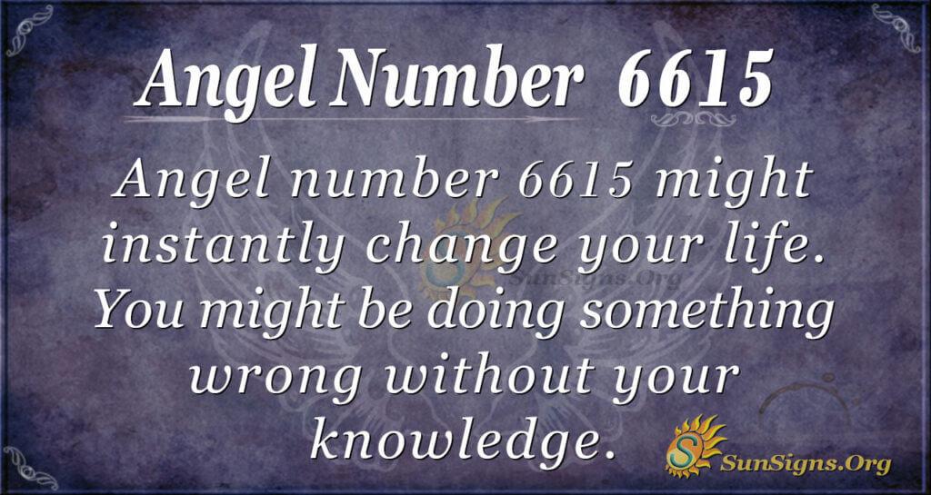6615 angel number