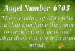 6703 angel number