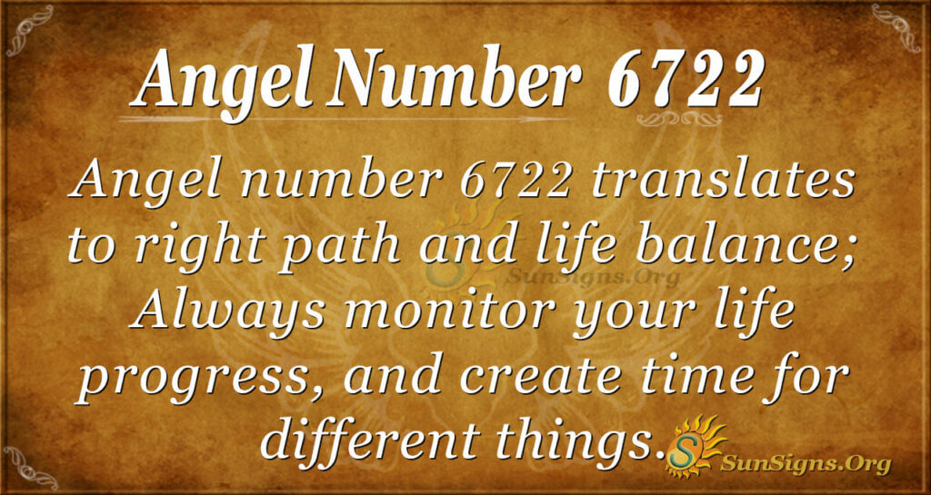 6722 angel number