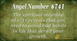 6741 angel number