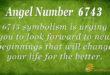 6743 angel number