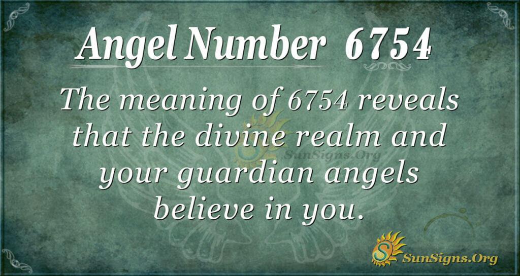 6754 angel number