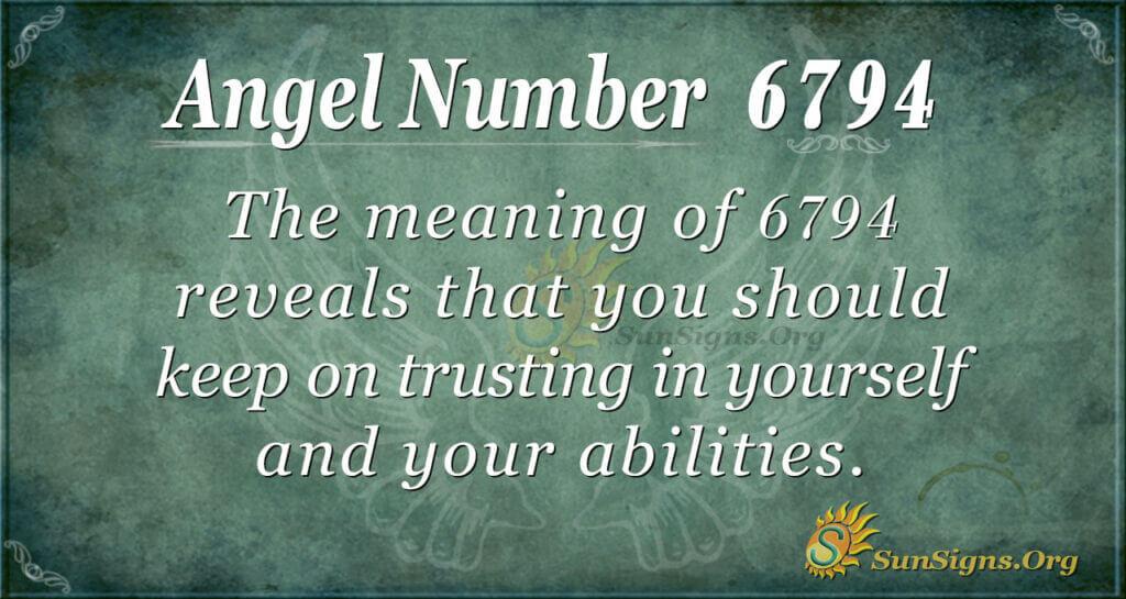 6794 angel number