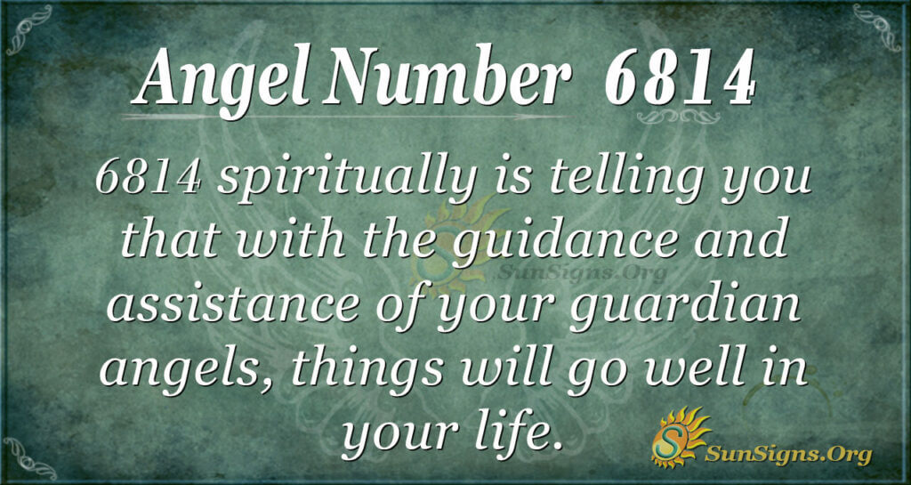 6814 angel number