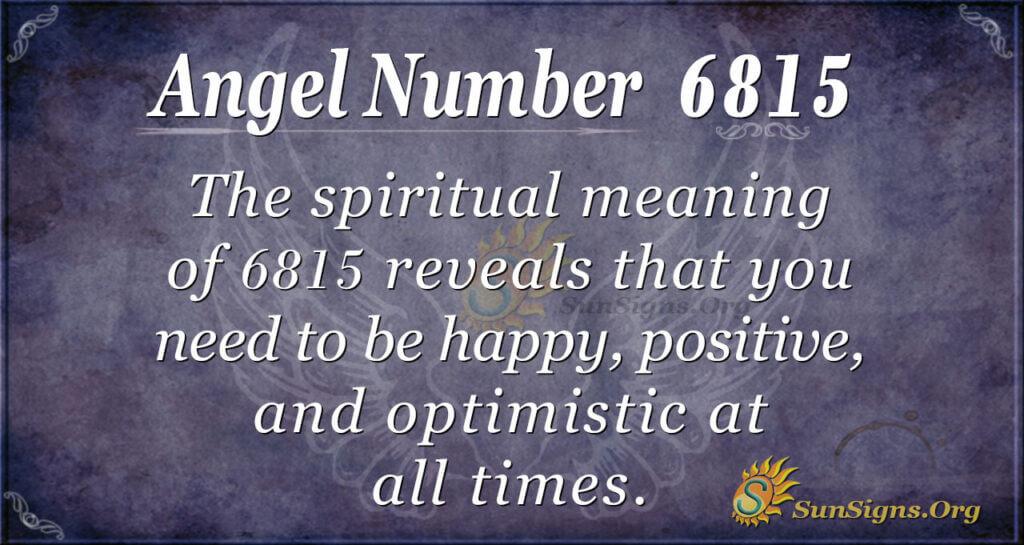 6815 angel number