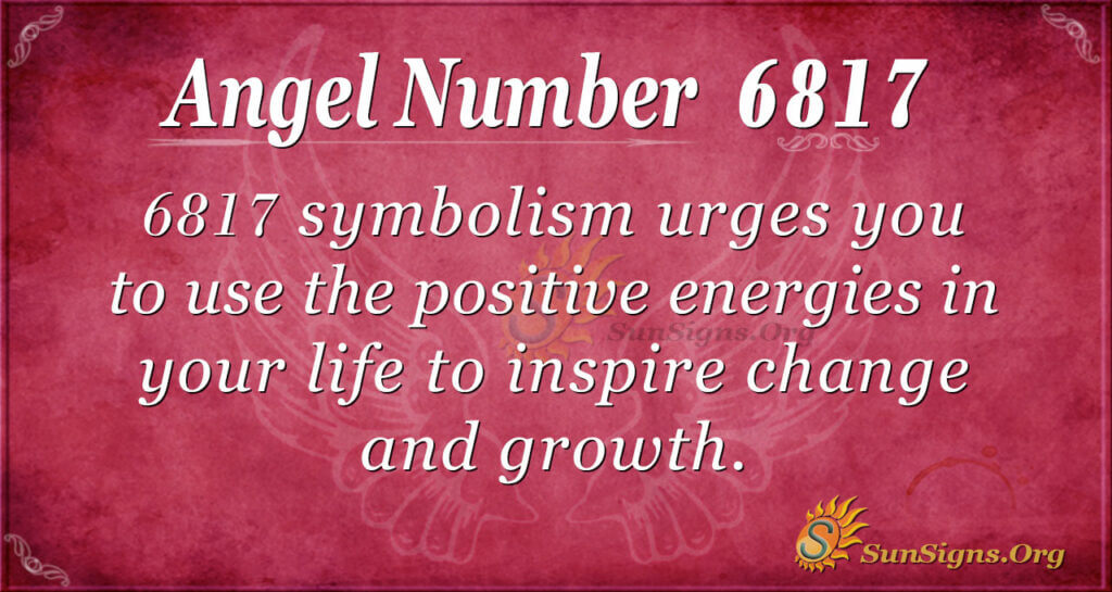6817 angel number
