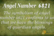 6821 angel number