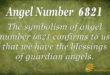 6821 angel number