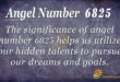 6825 angel number