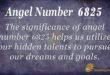 6825 angel number