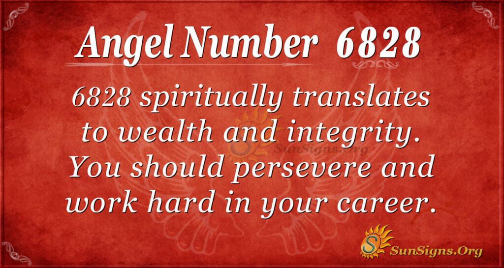 6828 angel number