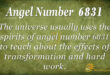 6831 angel number