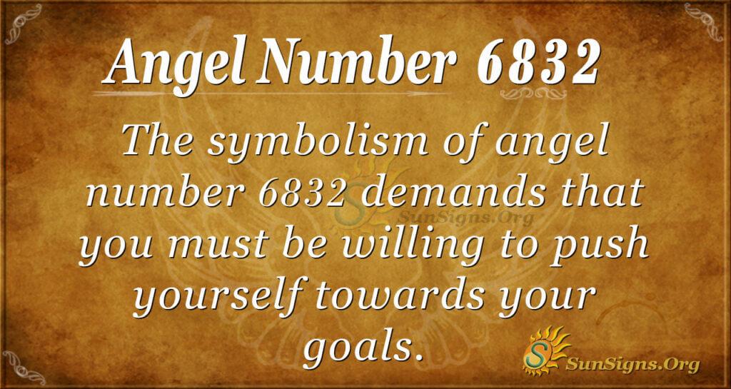 6832 angel number