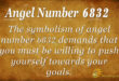 6832 angel number