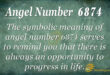 6874 angel number
