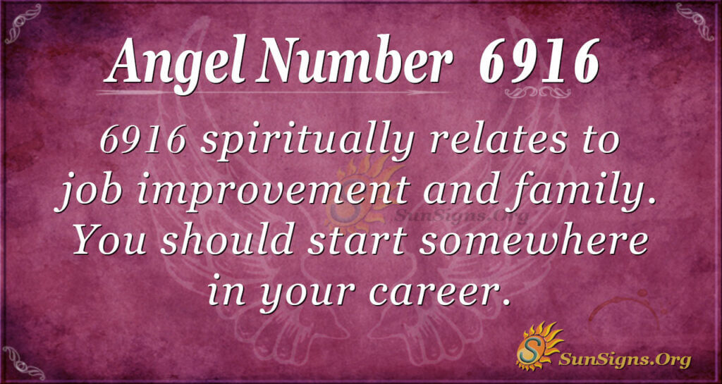 6916 angel number