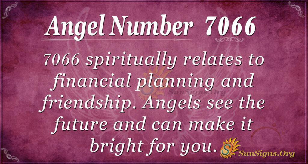 7066 angel number