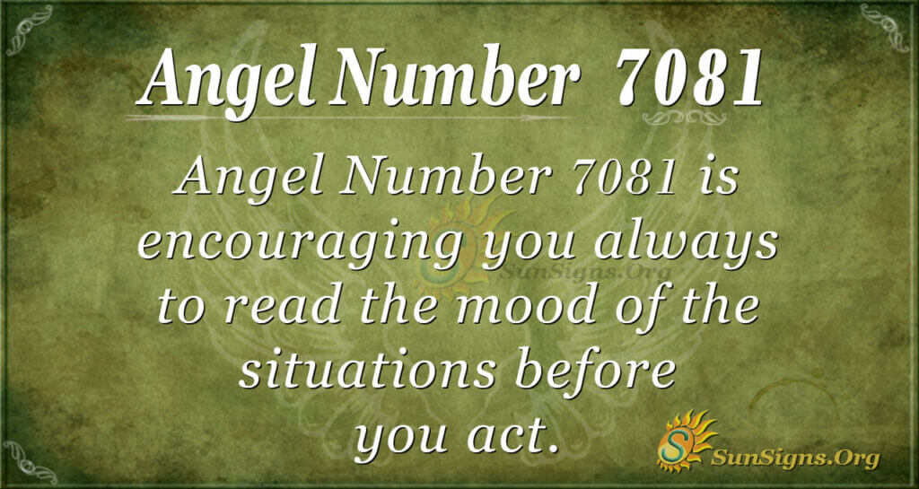 7081 angel number