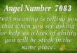 7083 angel number