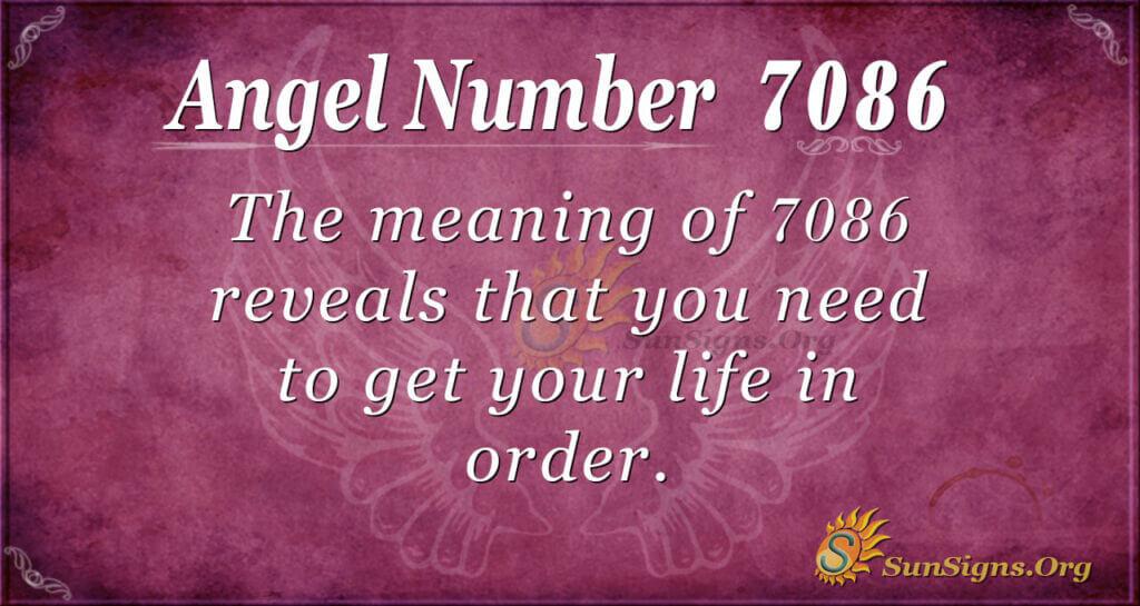 7086 angel number