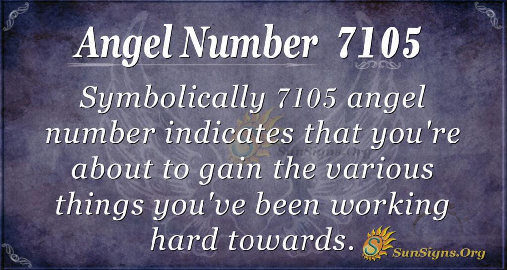 7105 angel number
