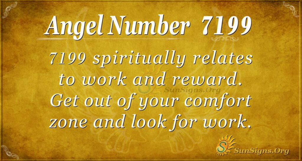 7199 angel number